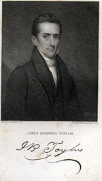 Picture of James Brainerd Taylor with signature